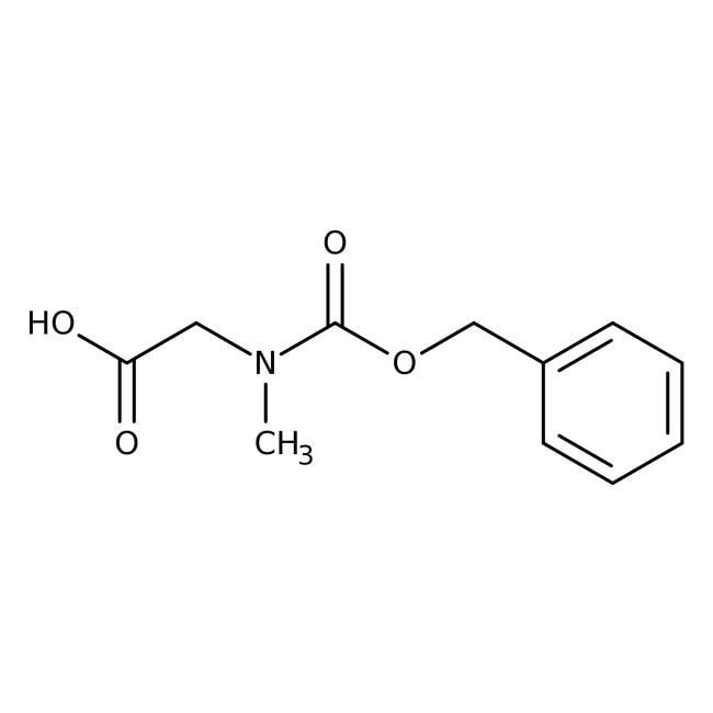 Alfa Aesar™N-(Benzyloxycarbonyl)sarcosine, 95% 5g Alfa Aesar™N-(Benzyloxycarbonyl)sarcosine, 95%