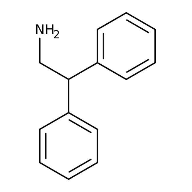 2,2-Diphenylethylamin, 96 %, Acros Organics™ 5 g-Glasflasche 2,2-Diphenylethylamin, 96 %, Acros Organics™