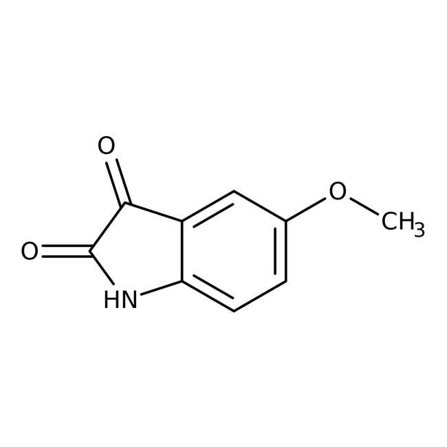 5-Methoxyisatin, 97%, ACROS Organics™