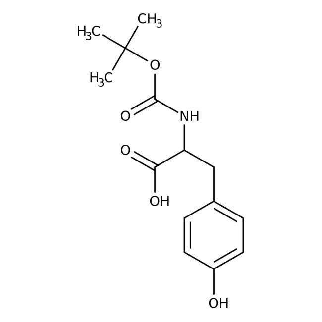 BOC-L-Tyrosine, 99+%, ACROS Organics™