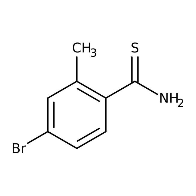 Alfa Aesar™4-Bromo-2-methylthiobenzamide, 96%