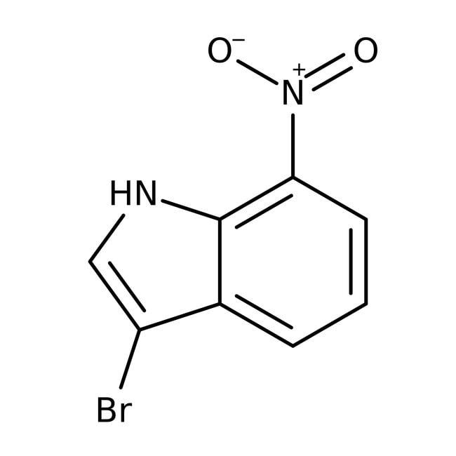 Alfa Aesar  3-Bromo-7-nitroindole, 97%