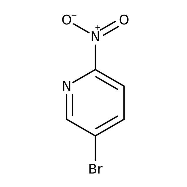 5-Bromo-2-nitropyridine, 99%, ACROS Organics™ 5g; Glass bottle 5-Bromo-2-nitropyridine, 99%, ACROS Organics™