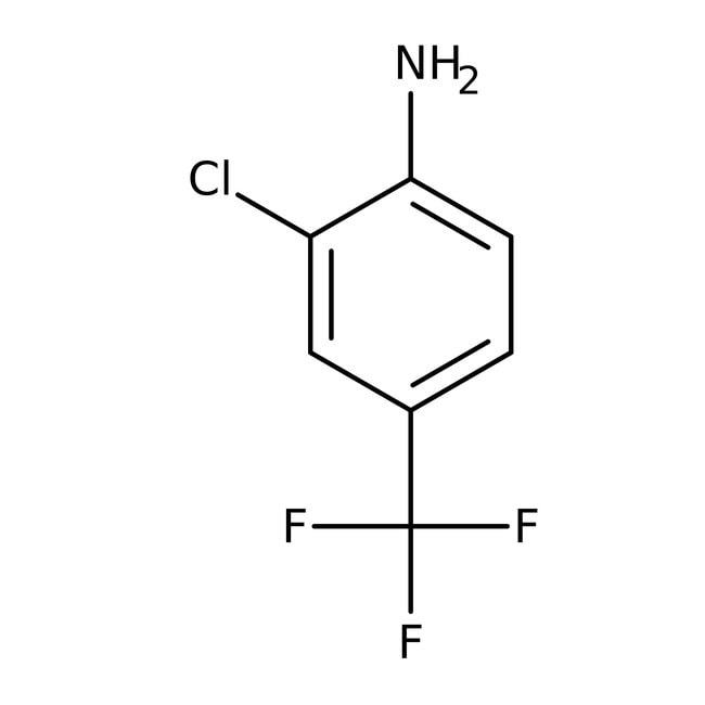 Alfa Aesar™2-Chloro-4-(trifluoromethyl)aniline, 98% 100g Alfa Aesar™2-Chloro-4-(trifluoromethyl)aniline, 98%