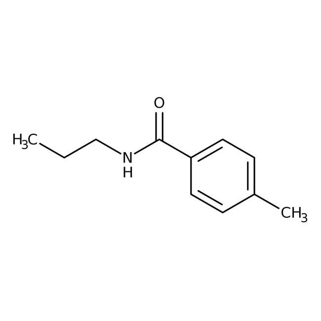 Alfa Aesar™4-méthyl-N-n-propylbenzamide, 97% 250mg Alfa Aesar™4-méthyl-N-n-propylbenzamide, 97%