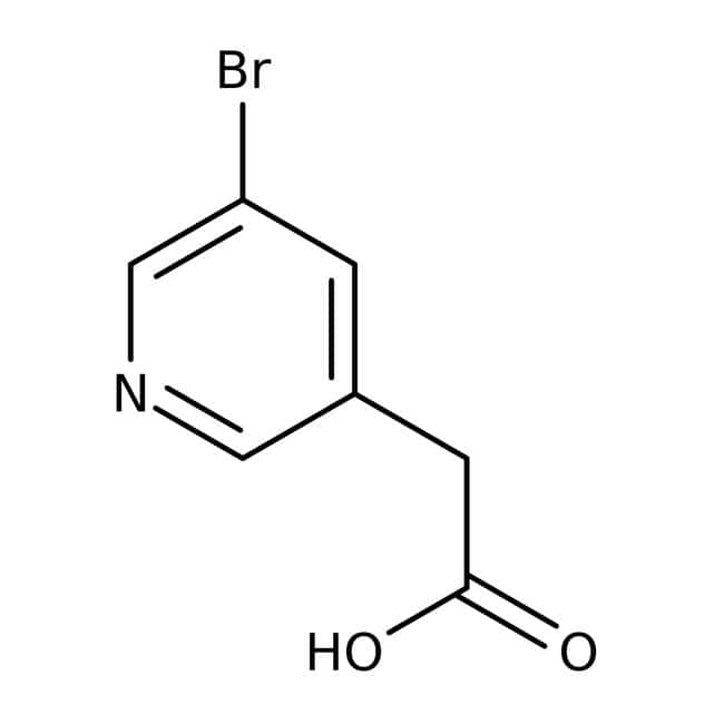 Alfa Aesar™ Acide 5-bromo-3-pyridineacétique, 98+ % 1 g Alfa Aesar™ Acide 5-bromo-3-pyridineacétique, 98+ %