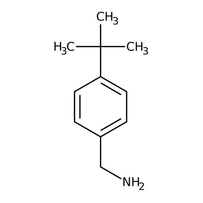 4-tert-Butylbenzylamine, 97%, Acros Organics