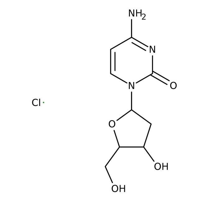 2'-Deoxycytidine hydrochloride, 98%, Acros Organics