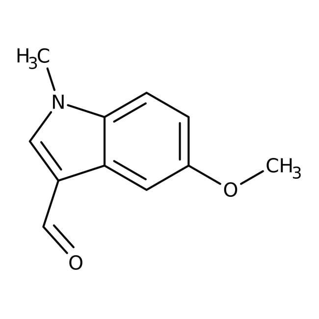 Alfa Aesar™5-Méthoxy-1-méthylindole-3-carboxaldéhyde, 98% 250mg Alfa Aesar™5-Méthoxy-1-méthylindole-3-carboxaldéhyde, 98%