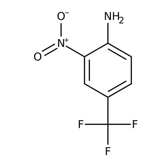 Alfa Aesar™2-Nitro-4-(trifluoromethyl)aniline, 98% 10g Alfa Aesar™2-Nitro-4-(trifluoromethyl)aniline, 98%