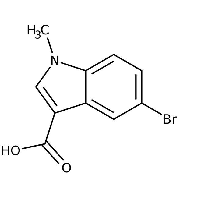 5-Bromo-1-methyl-1H-indole-3-carboxylic acid, 97%, ACROS Organics
