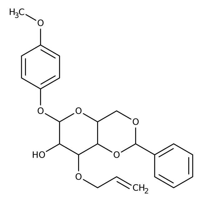 4-Methoxyphenyl 3-O-Allyl-4,6-O-benzylidene-beta-D-galactopyranoside 98.0+%, TCI America™