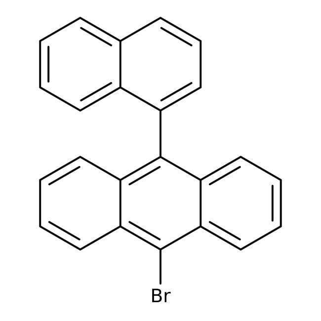 Alfa Aesar™9-Bromo-10-(1-naphthyl)anthracene, 98% 250mg Alfa Aesar™9-Bromo-10-(1-naphthyl)anthracene, 98%