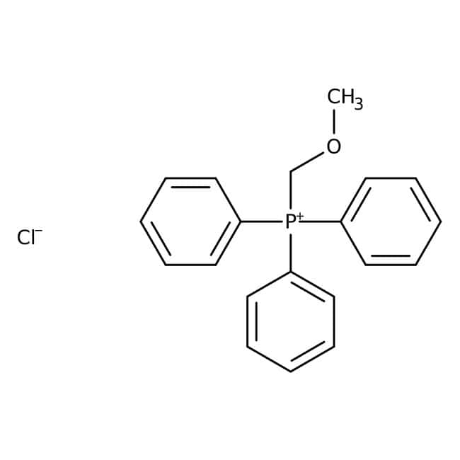 (Methoxymethyl)triphenylphosphonium chloride, 98%, ACROS Organics