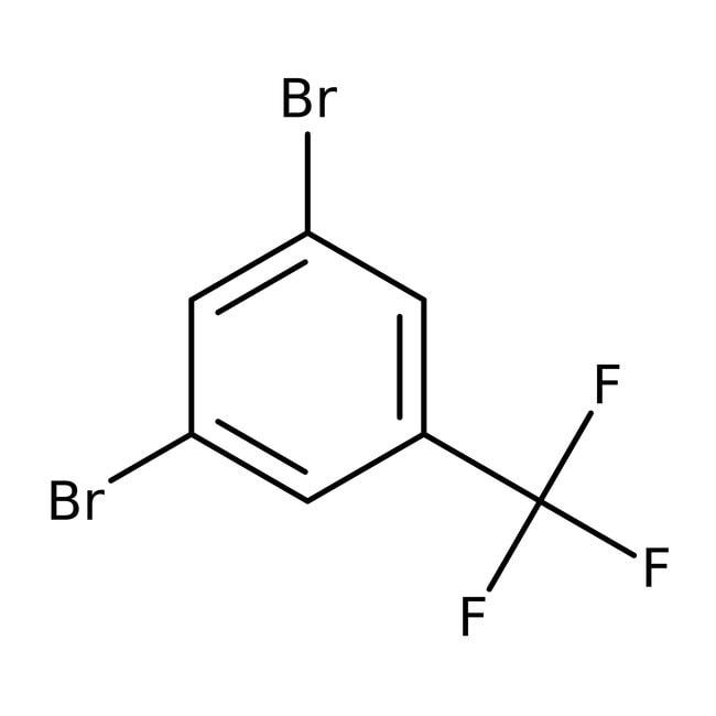 Alfa Aesar™3,5-Dibrombenzotrifluorid, 96% 5g Alfa Aesar™3,5-Dibrombenzotrifluorid, 96%