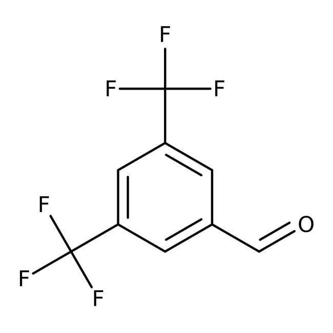 Alfa Aesar™3,5-Bis(trifluorometil)benzaldehído, 97% 25g Alfa Aesar™3,5-Bis(trifluorometil)benzaldehído, 97%
