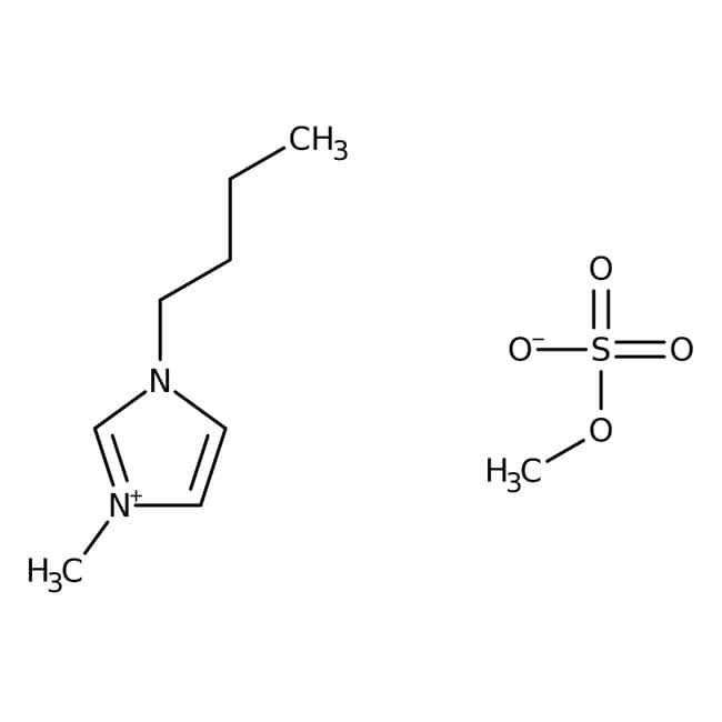 Alfa Aesar™Sulfate de diméthyle de 1-n-Butyl-3-méthylimidazolium, 99% 50g Alfa Aesar™Sulfate de diméthyle de 1-n-Butyl-3-méthylimidazolium, 99%