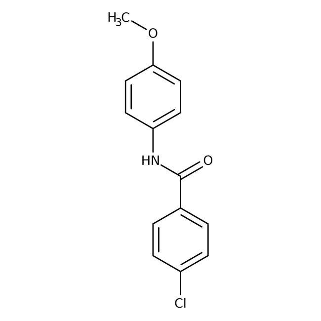Alfa Aesar™4-Chloro-N-(4-methoxyphenyl)benzamide, 97%
