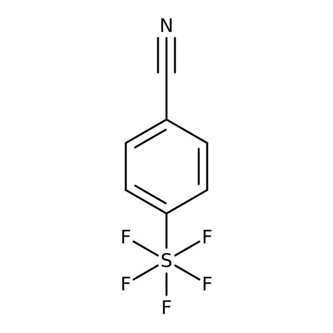 Alfa Aesar™4-(Pentafluorothio)benzonitrile, 97% 5g Alfa Aesar™4-(Pentafluorothio)benzonitrile, 97%