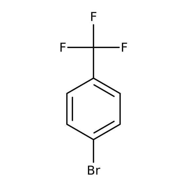 4-Bromobenzotrifluoride, 99%, ACROS Organics™ 100mL; Glass bottle 4-Bromobenzotrifluoride, 99%, ACROS Organics™