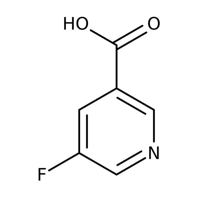 Alfa Aesar™5-Fluoronicotinic acid, 98% 5g Alfa Aesar™5-Fluoronicotinic acid, 98%