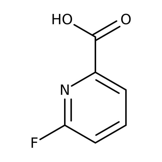 6-Fluoropyridine-2-carboxylic acid, 97%, ACROS Organics™