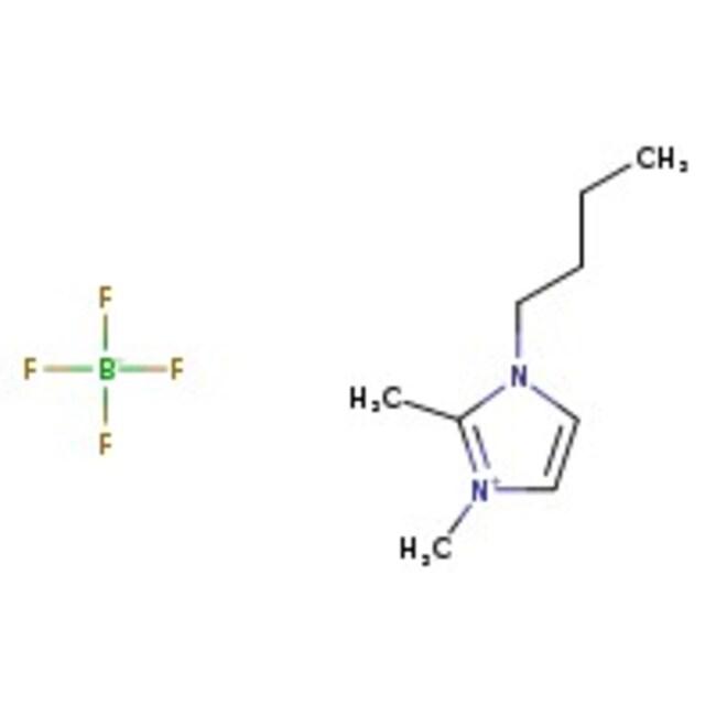 Alfa Aesar™1-n-Butyl-2,3-dimethylimidazolium tetrafluoroborate, 99% 5g Alfa Aesar™1-n-Butyl-2,3-dimethylimidazolium tetrafluoroborate, 99%