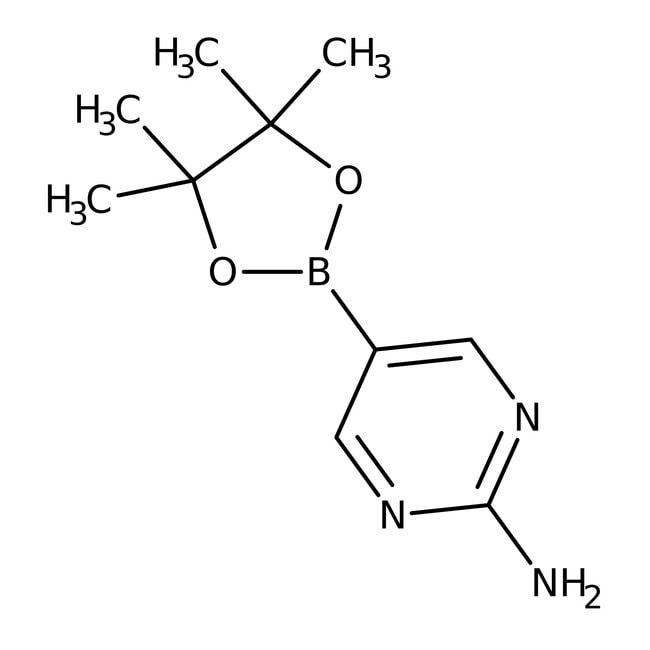 Alfa Aesar™2-Aminopyrimidine-5-boronic acid pinacol ester, 96%