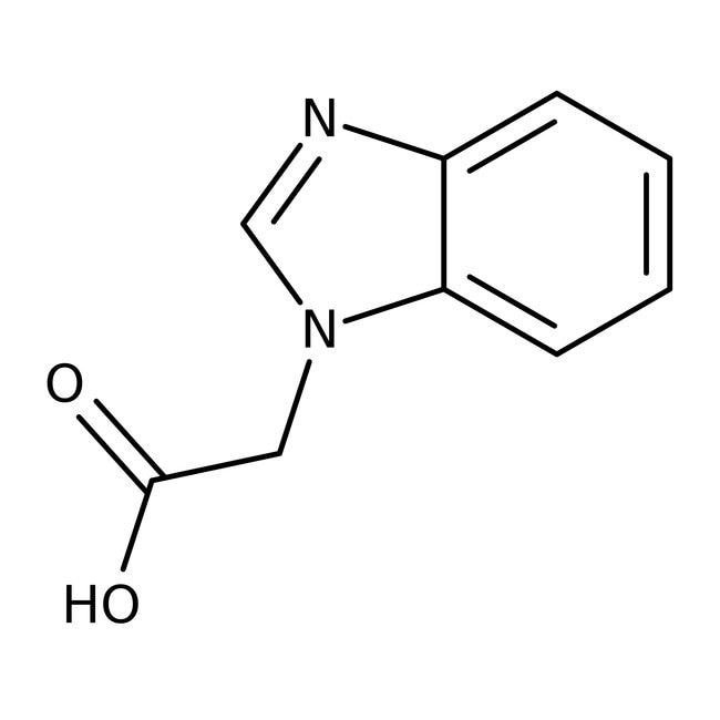 2-(1H-Benzimidazol-1-yl)acetic acid, 90%, Maybridge Amber Glass Bottle; 1g 2-(1H-Benzimidazol-1-yl)acetic acid, 90%, Maybridge