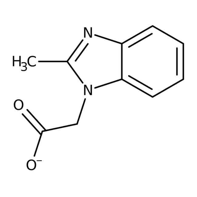 Acide (2-méthyl-benzoimidazol-1-yl)-acétique, 97 %, Maybridge 250 mg Acide (2-méthyl-benzoimidazol-1-yl)-acétique, 97 %, Maybridge