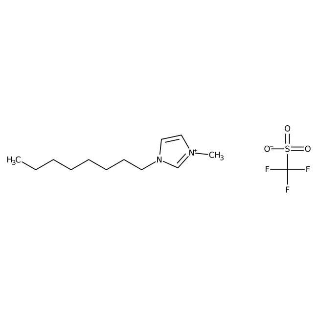 Alfa Aesar™1-Methyl-3-n-octylimidazolium trifluoromethanesulfonate, 97% 5g Alfa Aesar™1-Methyl-3-n-octylimidazolium trifluoromethanesulfonate, 97%