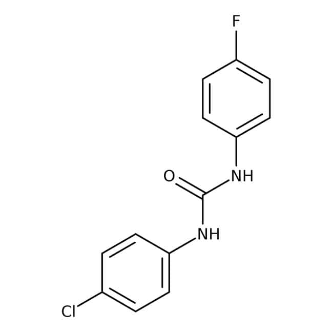 Alfa Aesar™1-(4-Chlorophenyl)-3-(4-fluorophenyl)urea, 97% 1g Alfa Aesar™1-(4-Chlorophenyl)-3-(4-fluorophenyl)urea, 97%