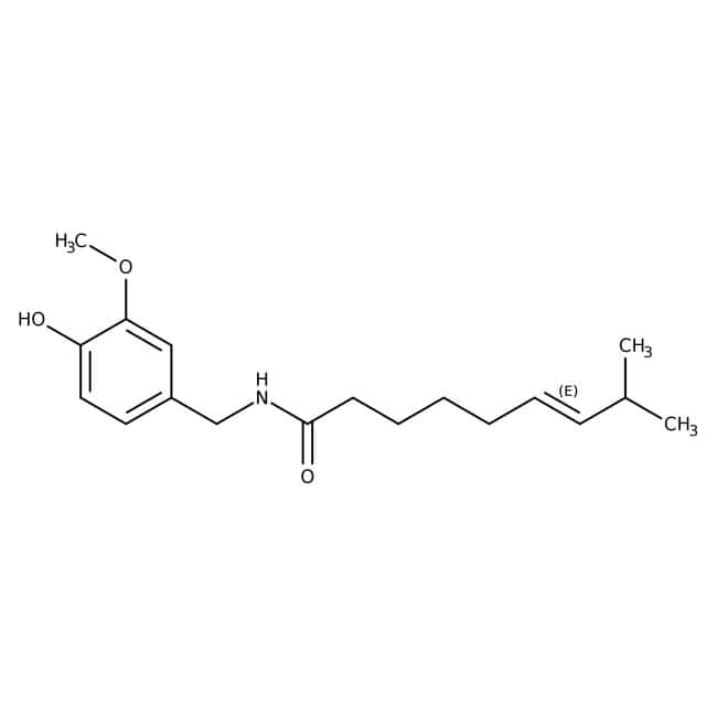 Capsaicin (Natural) 60.0 %, TCI America