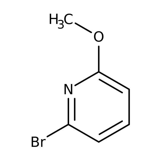 2-Bromo-6-methoxypyridine, 97%, ACROS Organics™ 25mL; Glass bottle 2-Bromo-6-methoxypyridine, 97%, ACROS Organics™