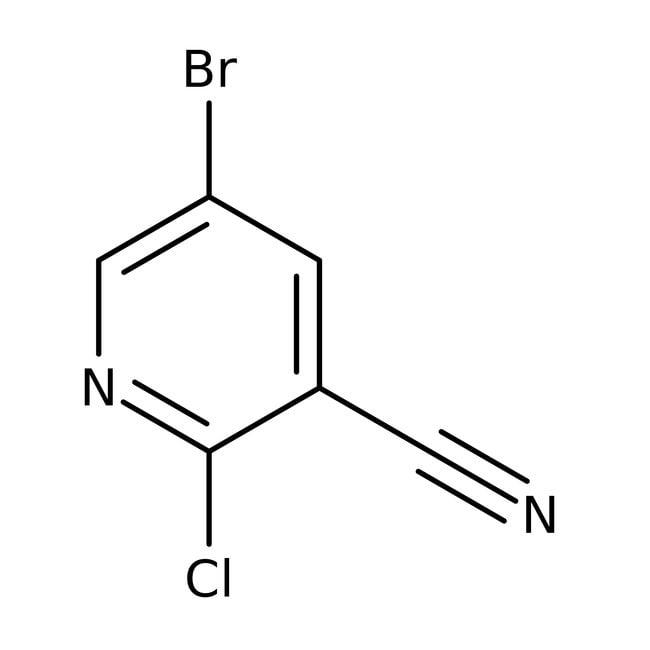 Alfa Aesar™5-Bromo-2-chloro-3-cyanopyridine, 98%