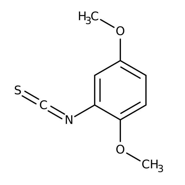 2,5-diméthoxyphényl isothiocyanate, Maybridge 10g 2,5-diméthoxyphényl isothiocyanate, Maybridge