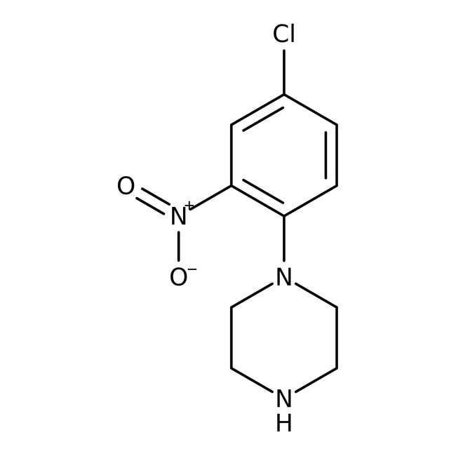 Alfa Aesar™1-(4-Chloro-2-nitrophenyl)piperazine, 97% 250mg Alfa Aesar™1-(4-Chloro-2-nitrophenyl)piperazine, 97%
