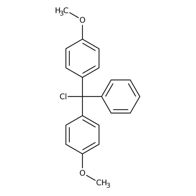 4,4'-Dimethoxytritylchlorid, 98%, Acros Organics™ 5 g-Glasflasche 4,4'-Dimethoxytritylchlorid, 98%, Acros Organics™