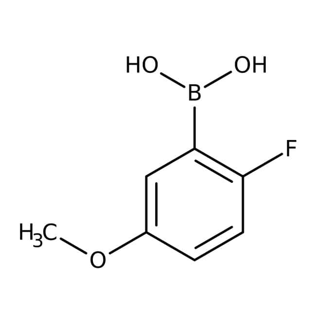 2-Fluoro-5-methoxyphenylboronic acid, 95%, ACROS Organics™