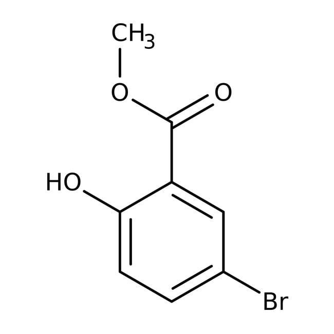 Alfa Aesar™Methyl 5-bromosalicylate, ≥98% 5g Alfa Aesar™Methyl 5-bromosalicylate, ≥98%