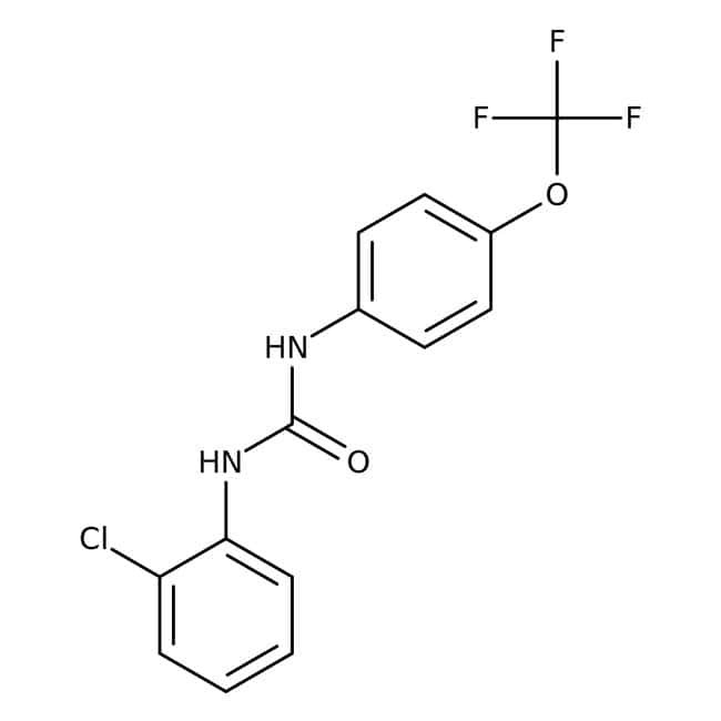 1-(2-Chlorophenyl)-3-[4-(trifluoromethoxy)phenyl]urea, 97%, Alfa Aesar™ 250mg 1-(2-Chlorophenyl)-3-[4-(trifluoromethoxy)phenyl]urea, 97%, Alfa Aesar™