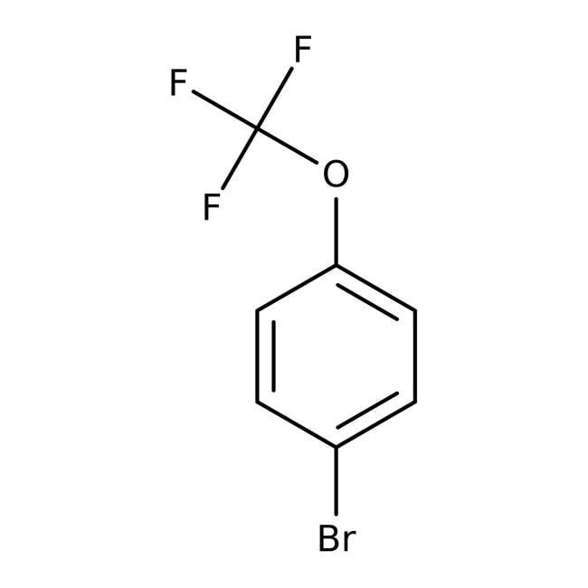 Alfa Aesar™1-Bromo-4-(trifluoromethoxy)benzene, 98% 5g Alfa Aesar™1-Bromo-4-(trifluoromethoxy)benzene, 98%