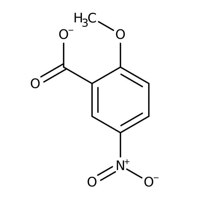 Alfa Aesar™2-Methoxy-5-nitrobenzoic acid, 96% 1g prodotti trovati