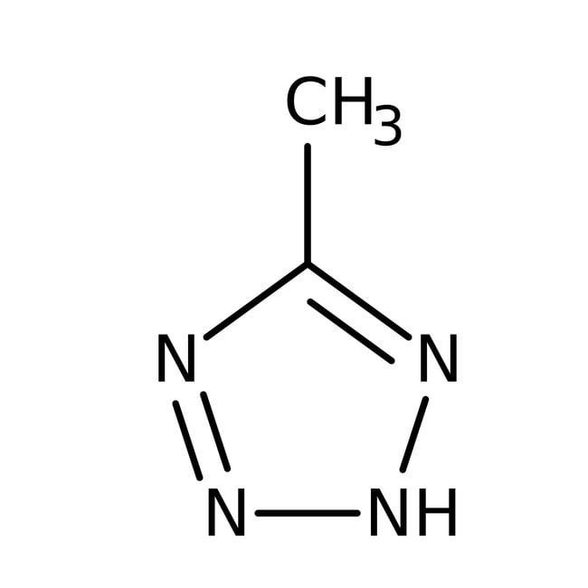 Alfa Aesar™5-Methyl-1H-tetrazole, 97%: Organoheterocyclic compounds Organic Compounds