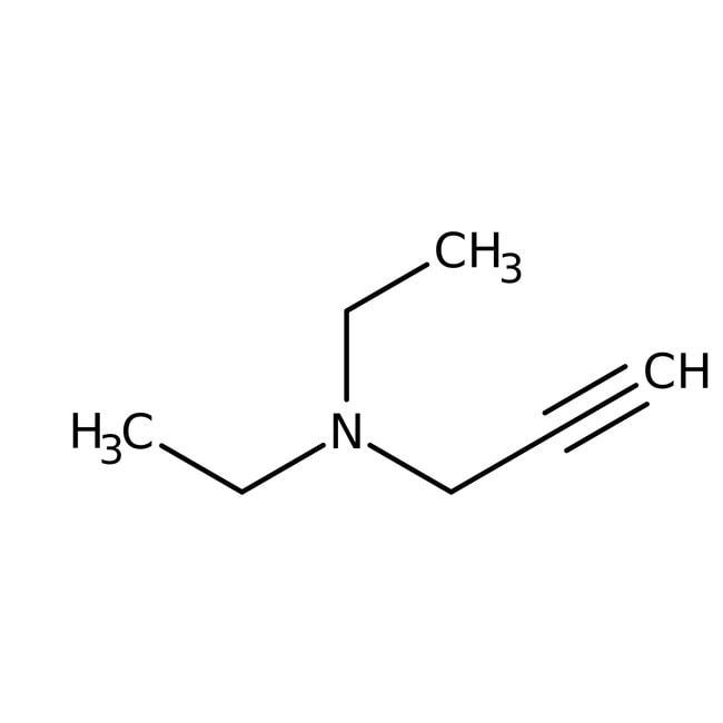 N,N-Diethylpropargylamin, 97 %, Acros Organics™ 5g N,N-Diethylpropargylamin, 97 %, Acros Organics™