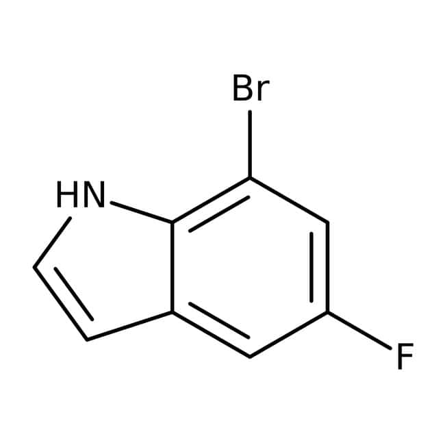 Alfa Aesar™7-Bromo-5-fluoroindole, 97%