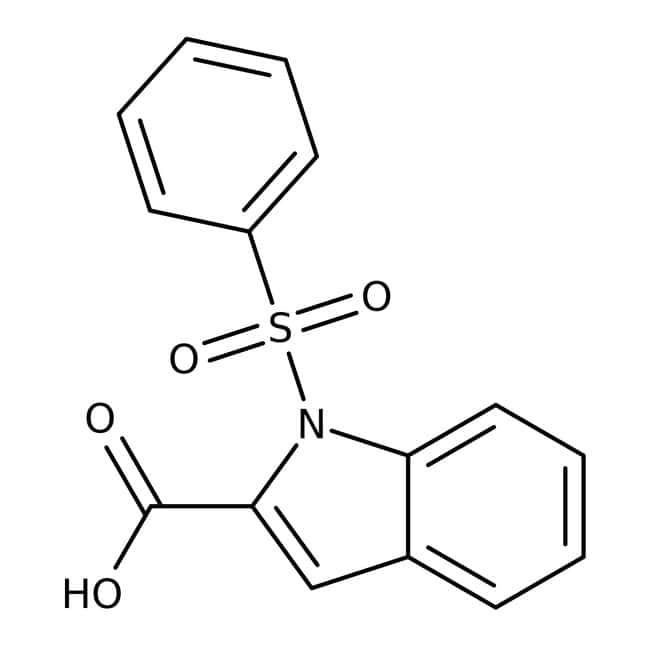 1-(Phenylsulfonyl)-1H-indol-2-carboxylsäure, 97 %, Maybridge 5 g 1-(Phenylsulfonyl)-1H-indol-2-carboxylsäure, 97 %, Maybridge