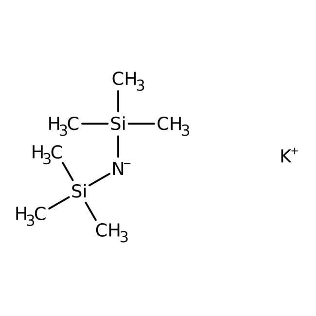 Kaliumbis-(trimethylsilyl)amid, 0.5M Lösung in Toluol, ≥99.4%, ACROS Organics™: Puffer und Lösungen Chemicals