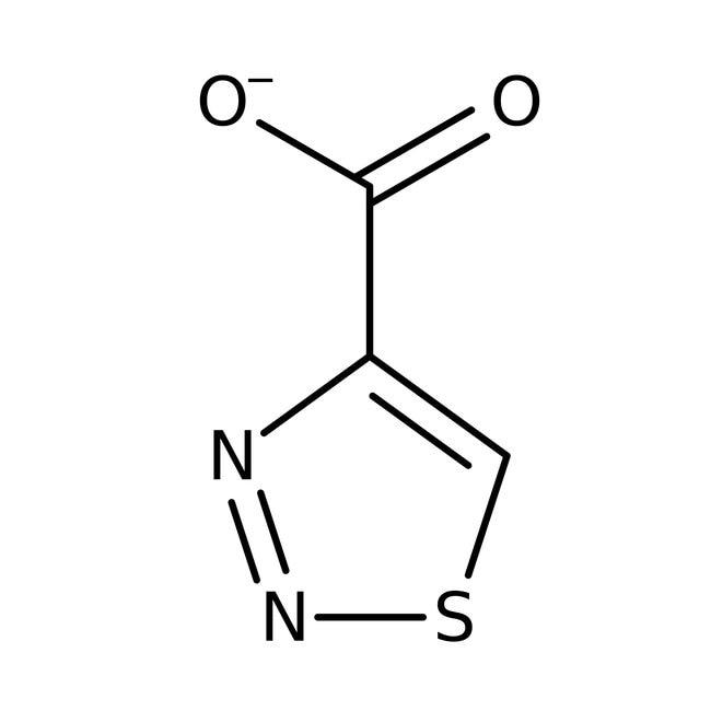 1,2,3-Thiadiazol-4-Carboxylsäure, 97%, Maybridge Braunglasflasche, 250mg 1,2,3-Thiadiazol-4-Carboxylsäure, 97%, Maybridge