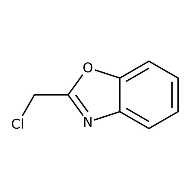 2-(Chloromethyl)-1,3-benzoxazole, 97%, ACROS Organics™ 5g 2-(Chloromethyl)-1,3-benzoxazole, 97%, ACROS Organics™